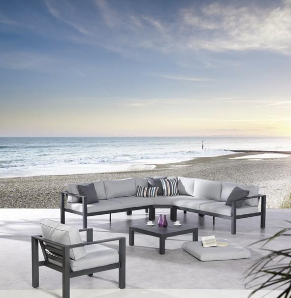 Best Freizeitmöbel Lounge-Gruppe Valencia, 4-teilig