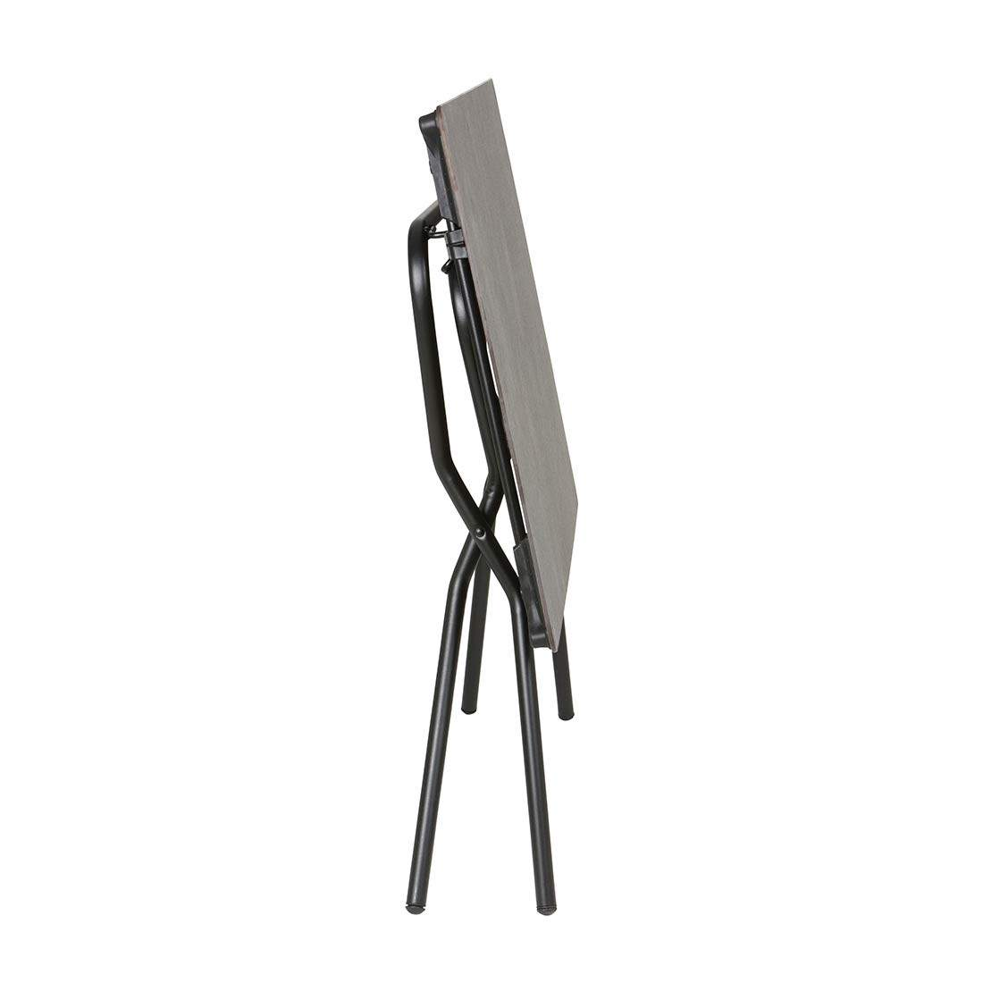 Lafuma Anytime Tisch Stahl/HPL Schwarz/Volcanic