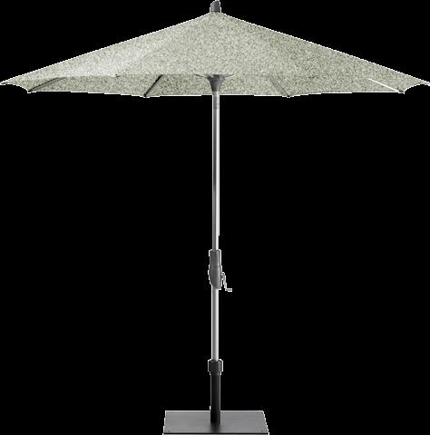 Glatz Sonnenschirm Alu-Twist rund 300cm ohne Volant - Plaster günstig online kaufen