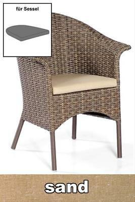 Sitzkissen für Sessel Cayman Dessin classic-sand SonnenPartner
