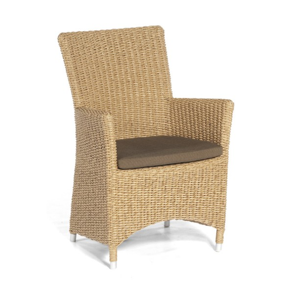 Sitzkissen für Sessel Ikarus Dessin classic-braun SonnenPartner