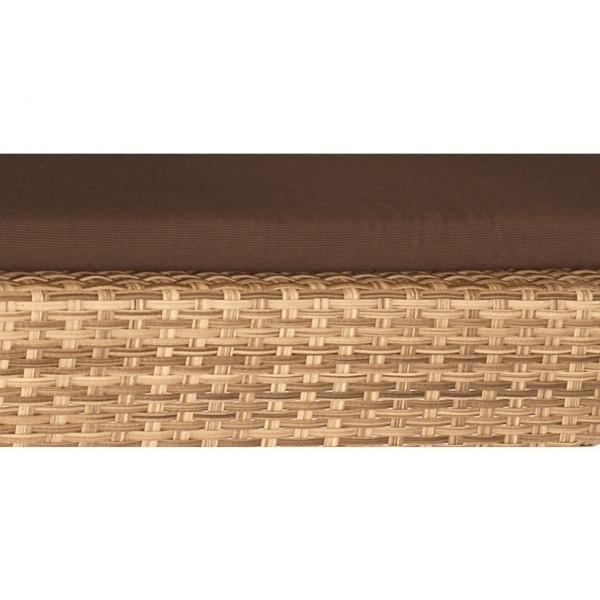 Sitzkissen für Sessel Cayman Dessin classic-braun SonnenPartner