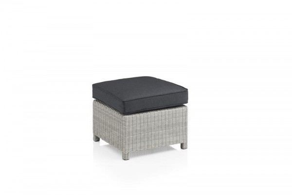 KETTLER Palma Modular Hocker inkl. Kissen salt'n'pepper