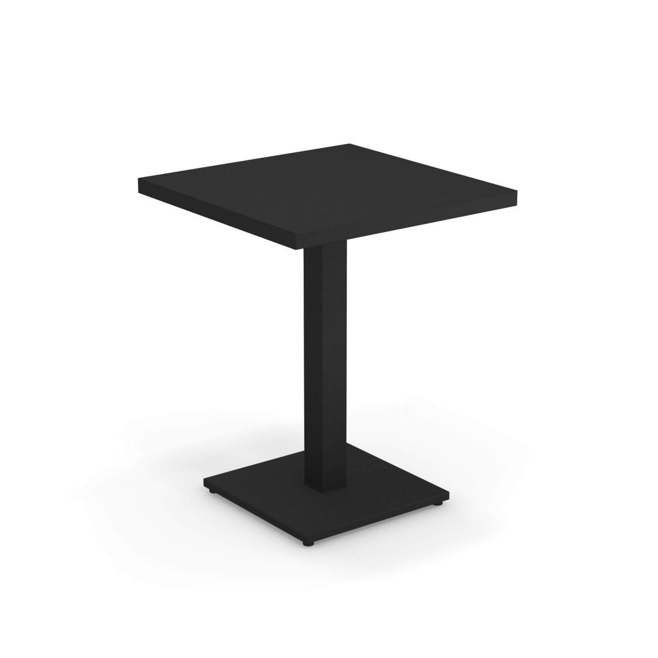 emu Tisch quadratisch 60 x 60 Round Schwarz günstig online kaufen