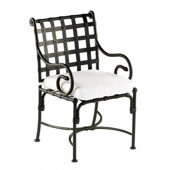 Sifas Kross Armlehnstuhl Inkl Sitzkissen Gartenstühle Aluminium