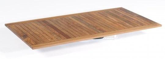"""Tischplatte """"Select"""" Old Teak gewachst ca. 200 x 100 cm von SonnenPartner"""