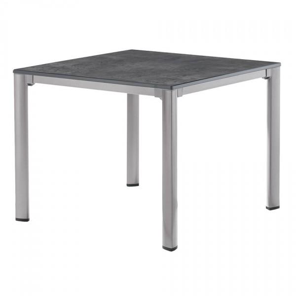 Sieger Tisch Mit Puroplan Platte 95 X 95 Cm Gestell Graphit