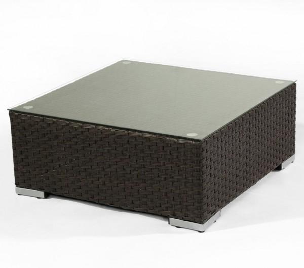 Polyrattan Tisch Loungetisch 5062 braun