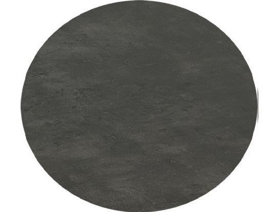 "SonnenPartner Tischplatte ""Compact"" HPL- Beton dunkel ca. 134 cm rund"