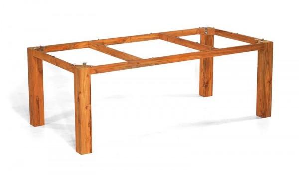 """Tischgestell """"Base"""" 200x100 cm Teakholz von SonnenPartner"""