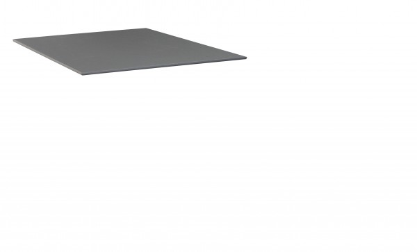 KETTLER KETTALUX PLUS Tischplatte 95x95 cm anthrazit-grau Schieferoptik
