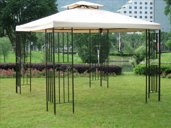 Pavillon AMAZONAS, Stahlgestell