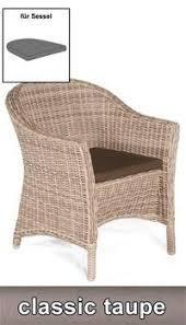 Sitzkissen für Sessel Venus Dessin classic-taupe SonnenPartner