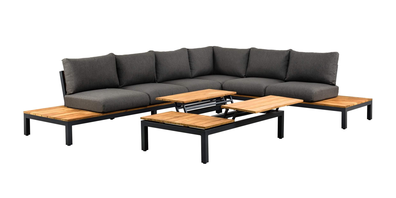 Suns Memphis Lounge Set Ohne Hohenverstellbarem Tisch Gartenmobel