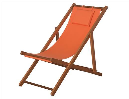 SIENA GARDEN Faro Beach-Liege-St.oran. Hartholz light teak