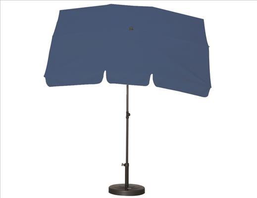 SIENA GARDEN Schirm 2,1x1,4 Poly blau Gest anthr/Pol blau UV+50
