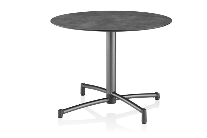 gartentische mit hpl platte tische exclusive. Black Bedroom Furniture Sets. Home Design Ideas