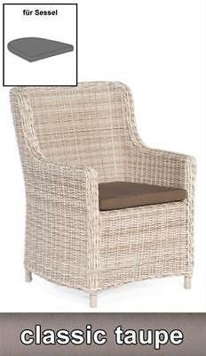 Sitzkissen für Sessel Medelin Dessin classic-taupe SonnenPartner
