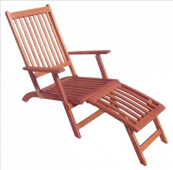 Deckchair MONTEGO, Eukalyptus FSC, geölt